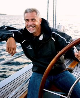 man sailing after he sold his business